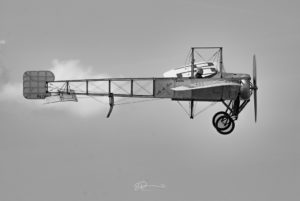 Aviation monoplan Bleriot